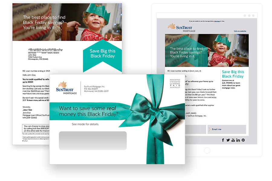 Direct Mail and Email marketing
