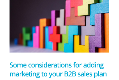 b2b marketing and sales